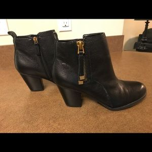 Brand new Franco Sarto black booties